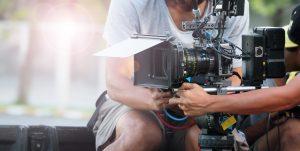 camera crew filming